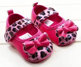 Wholesale hot selling Baby girls shoes Leopard Toddler shoes soft sole baby Walkers Wear Comfortable Casual Shoes