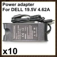 Adaptateur de chargeur d'alimentation d'ordinateur portable de DHL 10PCS pour Dell PA-10 19.5V 4.62A 90W RW-PC-20