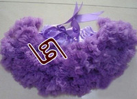 Wholesale baby pettiskirts dresses tutu dress girl s skirt girl pettiskirt tutu super fluffy H004