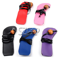 Not Specified other  ECigarette Leather Lanyard Ego Ring Necklace Carrying Cases, Electronic Cigarette Lanyard