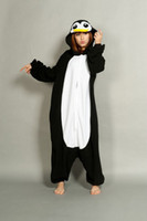 Wholesale Adult Penguin Kigurumi Pajamas Cosplay Costume Onesies Animal Pyjamas Suit Party