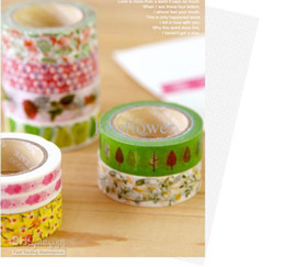 2013hotFree shipping New arrive hight quality japanese washi paper masking tape