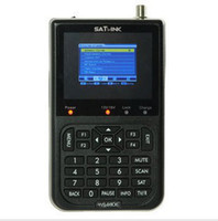 Wholesale Satellite Signal Finder SATLINK WS6906 Satlink WS DVB S FTA Digital Satelite Signal Finder Meter TV Signal Receiver