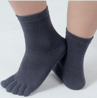 Wholesale New Hot High QualitySocks FIVE TOE SOCKS cotton sock men s fashion amp health five fingers socks sports sock top quality