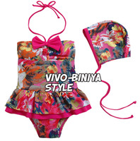 baby girl's swimsuits floral printing kid's swimwear 2013 ne...