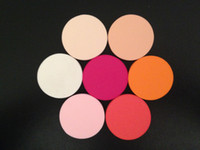 Wholesale 200pcs colors Optional Latex Free Songe Puff Facial Face Sponge Makeup Cosmentix Dry wet amphibious circular Powder Puff with opp dustbag