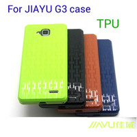 Case Neoprene Dirt-resistant Original Stand JIAYU G3 phone Soft Silicon Case cover