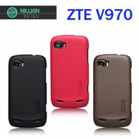 Plastic v970 u970 Guangdong, China (Mainland) For zte v970 u970 3G MTK 6577 Rubberied Plastic Case free screen protector free shipping