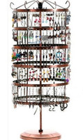 metal jewelry stand - Christmas Holes Rotating Earrings Metal Jewelry Display Stand Rack Holder Organizer Stand