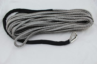 Wholesale MM M Strand DYNEEMA synthetic X4 Winch Rope With Thimble