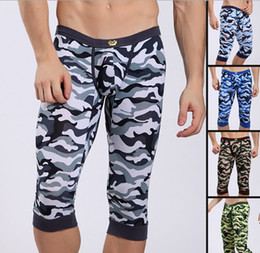 Wholesale Fashion underwear New colors men s Long johns Thermal Underwear modal pajama pants with tracking number Size S M L