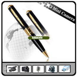 Mini-libre caméra cachée en Ligne-support Mini DV Pen Spy Video Recorder caméra espion caché max 16GB TF / MicroSD Livraison gratuite