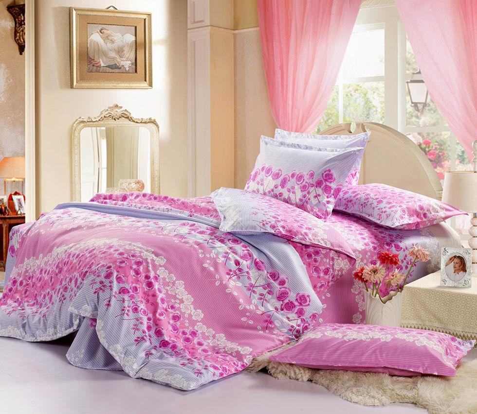 Wholesale Bedding Sets - Buy Beautiful Roses Pattern Bedroom ...