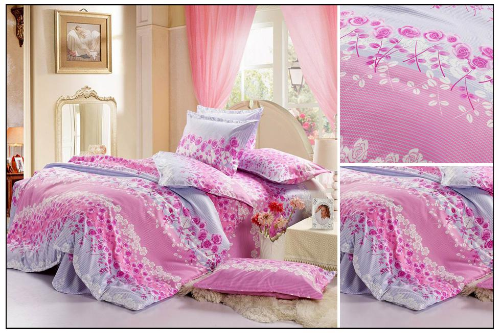 Wholesale Bedding Sets - Buy Pink Bedding Sets Beautiful Roses ...