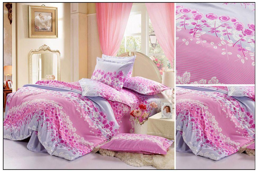 Wholesale Bedding Sets - Buy Pink Bedding Sets Beautiful Roses ...