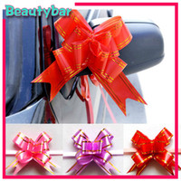 Wholesale Festive gifts Packaging ribbons Flower Christmas Wedding Birthday valentine s Room Ornament amp Decoration Gift amp Present pull bows cm