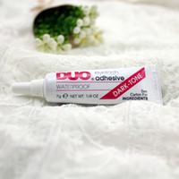 black eyelash glue - New Hot Makeup DUO Eyelashes Glue Water Proof Individual Eye lashes Fake Eyelash Adhesives g Black White