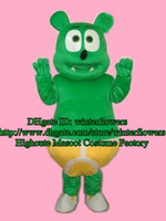 Wholesale Gummy Bear Mascot Costume Adult Cartoon Character Mascotte Mascota Outfit Suit No