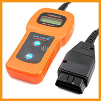 For Audi audio diagnostic - Car Care U480 CAN OBD II OBD2 Code Reader Scanner Car Auto Tester Diagnostic System For VW Audio