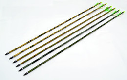 Wholesale high quality fiberglass camo arrow quot youth practise archery bow shooting hunting outdoor sport