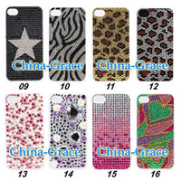 Wholesale Hot Sale Acrylic Diamond Crown Design Cover For iPhone S Cell Phone Case Accessories TZ