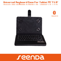 Wholesale for ipad samsung asus google lenovo inch inch tablet PC detachable Bluetooth keyboard case universal design