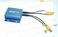 Wholesale Surveillance camera adapter CCTV mini DVR C DVR TF card recorders support GB SD card S412