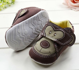 Wholesale hot selling Baby shoes monkey Toddler shoes soft sole baby Walkers Wear cartoon Casual Shoes