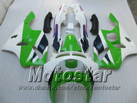 Wholesale Green fairing for KAWASAKI Ninja ZX R ZX R ZX6R bodywork fairings kits