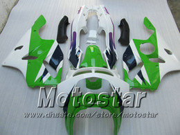 Green fairing for KAWASAKI Ninja ZX-6R 94-97 ZX 6R 1994-1997 ZX6R 94 95 96 97 1994 1995 1996 1997 bodywork fairings kits