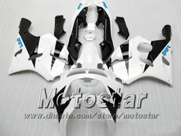 white Bodywork fairing kit FOR KAWASAKI Ninja ZX-6R 94-97 ZX 6R 1994 1995 1996 1997 ZX6R 94 95 96 97 zx6r fairings