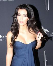 Promotion kim kardashian bleu robe de célébrité ZSD-009 Kim Kardashian Bleu marine Sweethart Mousseline Robe de soirée formelle robe de célébrité pour la vie Gala