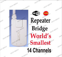 Wholesale LLFA706 Vonets VAP11N Mini Wireless WiFi Signal Bridge amp Repeater World s Smallest M for STB IPTV Sky Box X BOX