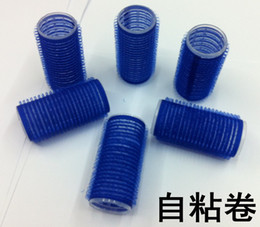 Wholesale WholesaleCurly wave not to hurt the self adhesive roll sponge volume