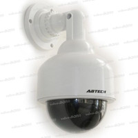 Wholesale Fake Dummy Decoy Dome Security Camera with Red Blinking LED NEW DUMMY CAMERA