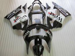 Free shipping WEST Fairing kit for KAWASAKI Ninja ZX6R 1998 1999 ZX-6R 98-99 ZX 6R 98 99 full fairings kits Free windscreen