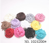 Wholesale 20 Off New Alloy Pendant Scarf Jewelry Pendant Scarves Colorful Fringed Scarves