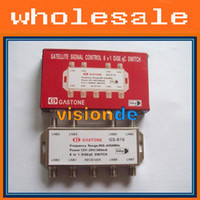 Wholesale Freeshipping GS S in DiSEqC Switch Satellites FTA TV LNB Switch