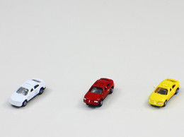 N SCALE 100pcs 1:160 N SCALE model car for train layout