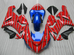 ZK242 Spider Man theme Bodywork fairing kit FOR Ninja ZX6R 636 ZX-6R 2005 2006 05 06 ZX 6R 05-06 fairngs
