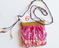 Wholesale Cheap Handbags Lady Beach Bag Bohemia Boho Chiffon colors Low Price B17