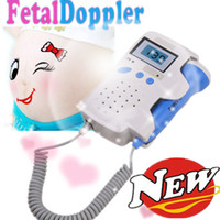Wholesale Mom liked most Digital Ultrasonic Fetal Doppler listen to baby heart beat fetal baby heart bea