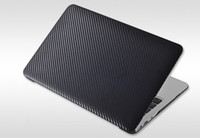 Wholesale Carbonshell Carbon Fiber hard Case Fashion Black White Pink Red for Macbook Air inch Apple not S4