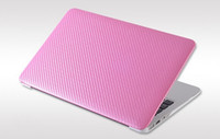 Wholesale New Carbonshell Carbon Fiber hard Case Fashion Black White Pink Red for Macbook Air inch Apple Sale