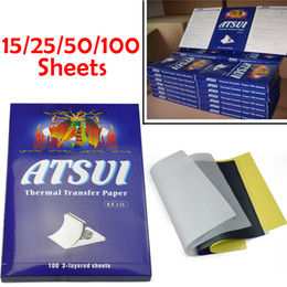 Wholesale High Quality Tattoo Thermal Stencil Transfer Paper Sheets