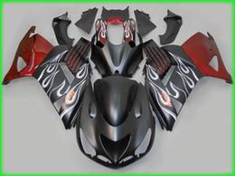 Free ship flame fairing kit FOR Kawasaki ninja ZX-14R 2006 2007 2008 2009 ZX14R 06 07 08 09 ZX 14R