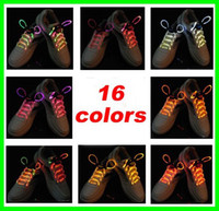 Wholesale Best price pairs Latest model LED Flashing shoelace light up shoe laces Laser Shoelaces factory