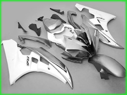 sale! Silver gary Fairings for yamaha 2006 2007 YZF R6 YZFR6 06 07 YZFR 6 YZF-R6 full fairing kits bodywork