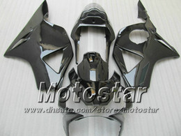 All glossy black ABS Fairings kit for Honda CBR 900RR 954 CBR 900 RR CBR954RR CBR954 2002 2003 02 03 fairing kits