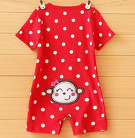 Wholesale baby bodysuits new born rompers overall babywear baby clothes girls jumpsuits infant shortalls cotton toddler tops body suits Z88
